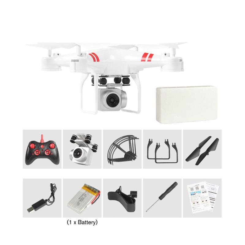 KY101D RC Helicopter Drone with HD WIFI FPV 4K 16MP Camera 2.4G 4-axis RC Aircraft Drones Single battery