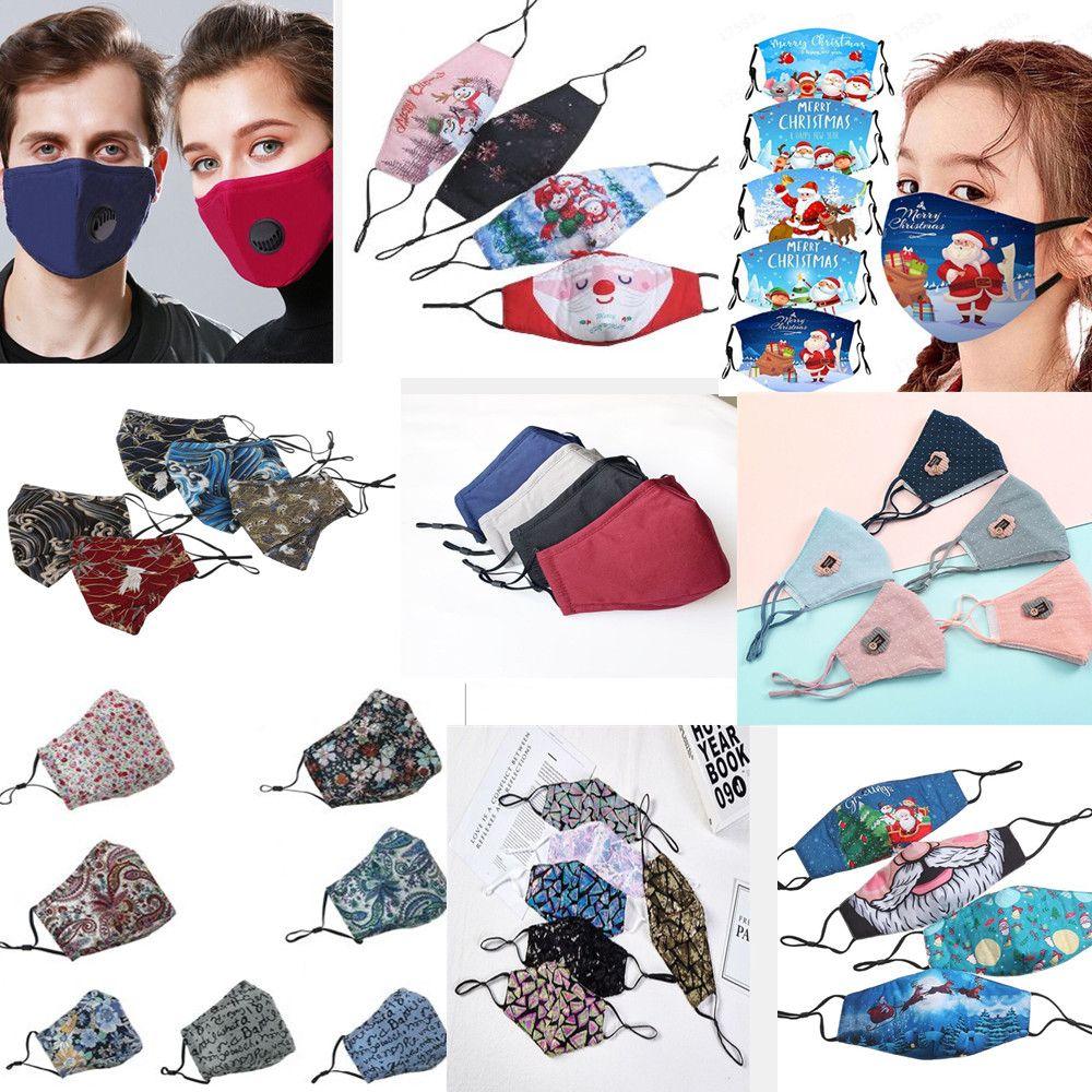 christmas custom face mask masque christmas decorations cartoon masks adult mascherina sequin face mask cotton reusable washable mask