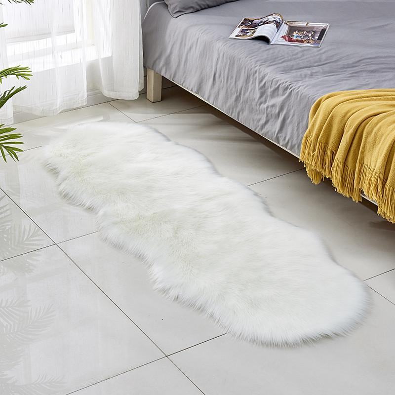 living room imitation 2p 60*180 cm long washable soft anti-ski bedroom wool carpet decoration 1 NYIW3
