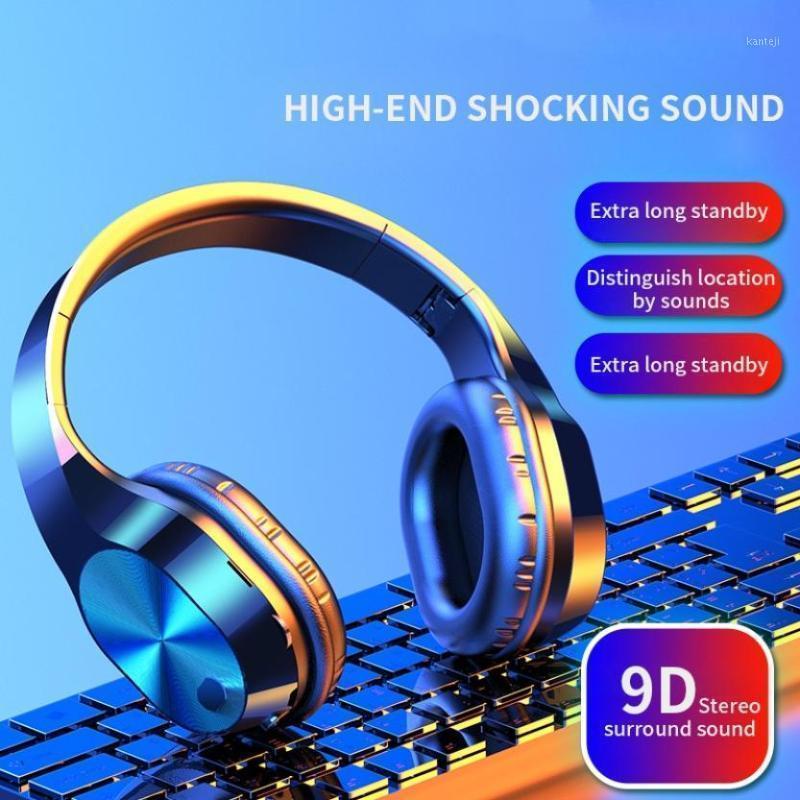 HBQ T5 Wireless Bluetooth Headphones V5.0 3D Stereo Wireless Headphones with Mic Foldable Headset Earphone1