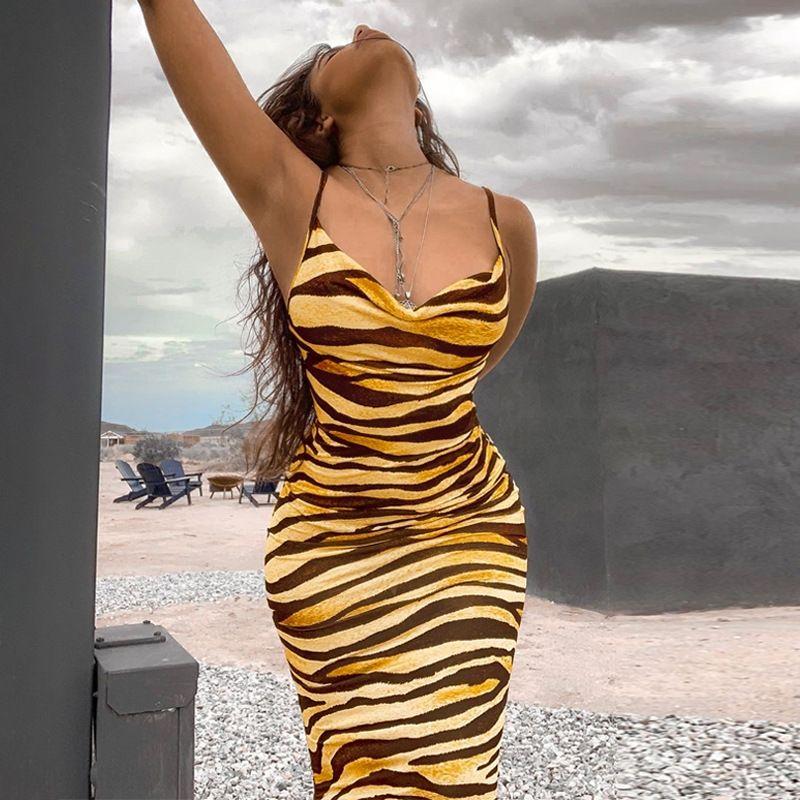 Diwn 6 Цветов Модное платье Девочка Пляж Флуоресценция Летнее Платье Размер Назад Шифон Женщины Женщины Плюс Полая Неоновые Цветы Платья CCA7331 100PC