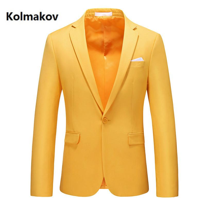 new arrival spring blazers fashion casual blazer men,men's high quality casual jackets size M-6XL 201104