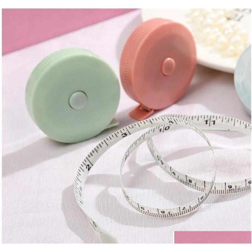 Retractable Measure Tape Body Measurement Belt Tailor Sewing Cloth Craft Centimeter Inch Children Heig qyljdv bdebaby