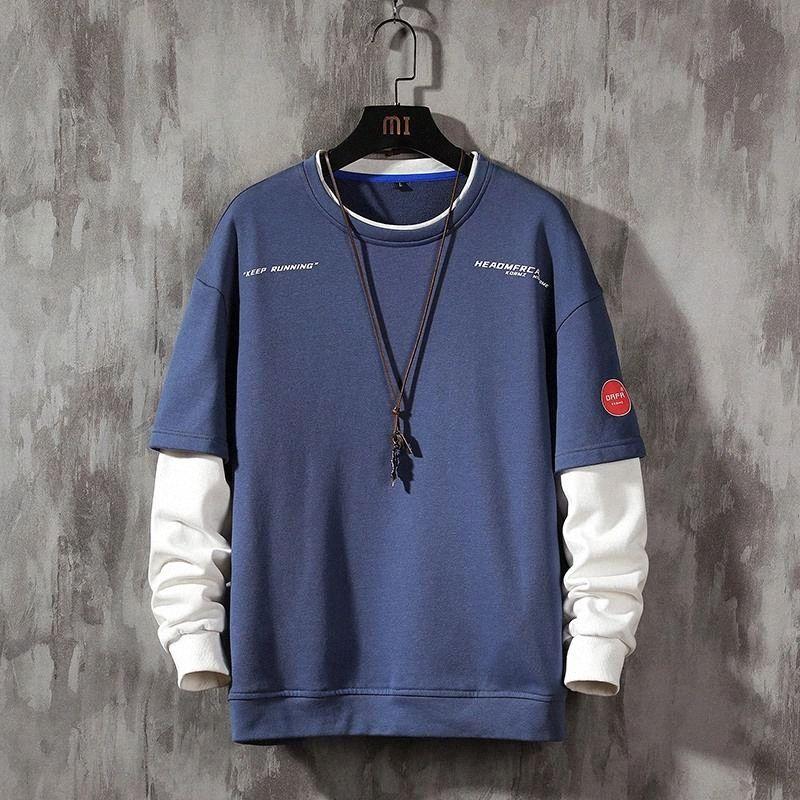 Moda Marca Hoodies 2020 Primavera Outono Hip Hop Solto Casual Homens Sweatshirts Punk Streetwear Roupas # iz31