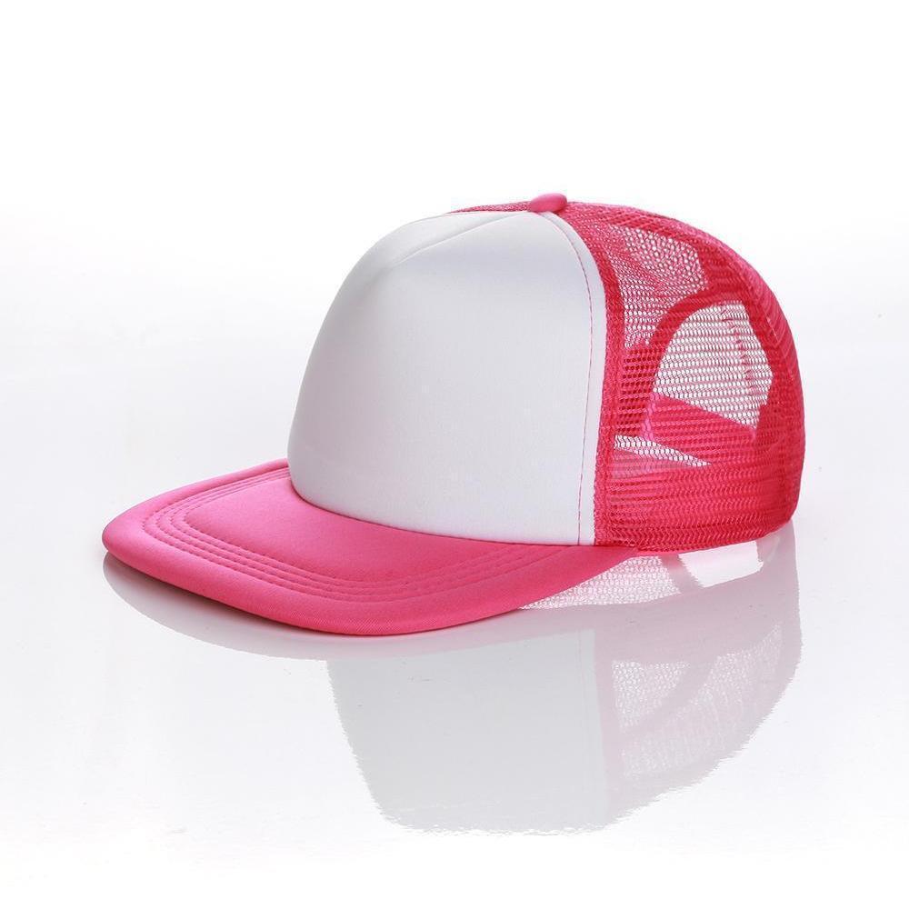 Capuchers de camionneur de hip hop plaine Snapbacks blank Snapbacks Mesh Designer Hats Réglable pour hommes Femmes WMTAAZ HOMESS2007