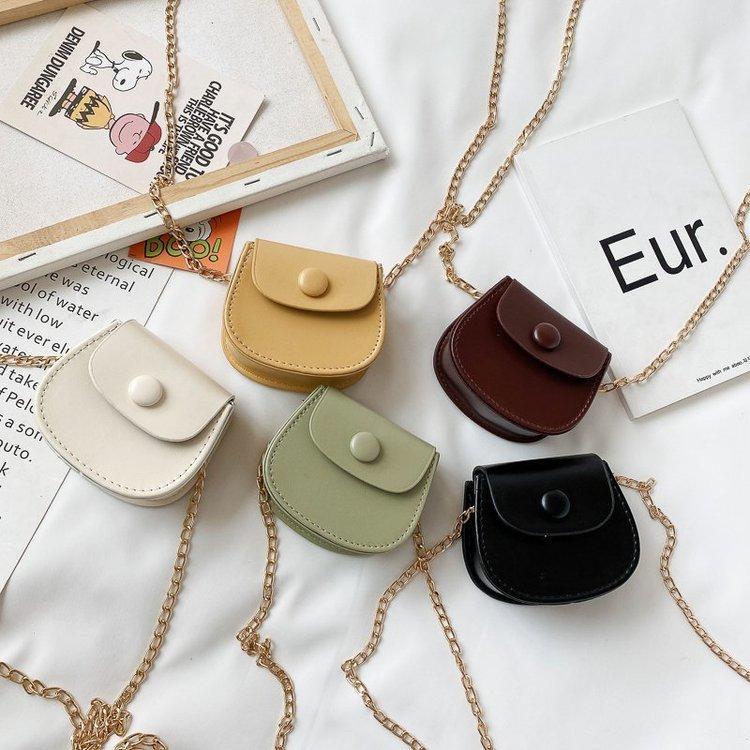 Free DHL Blank PU Fashions School Handbag Niños Girls Me Monedero Mini Colores Madre y Calidad Conjuntos para niños Diseños de un hombro PTXU