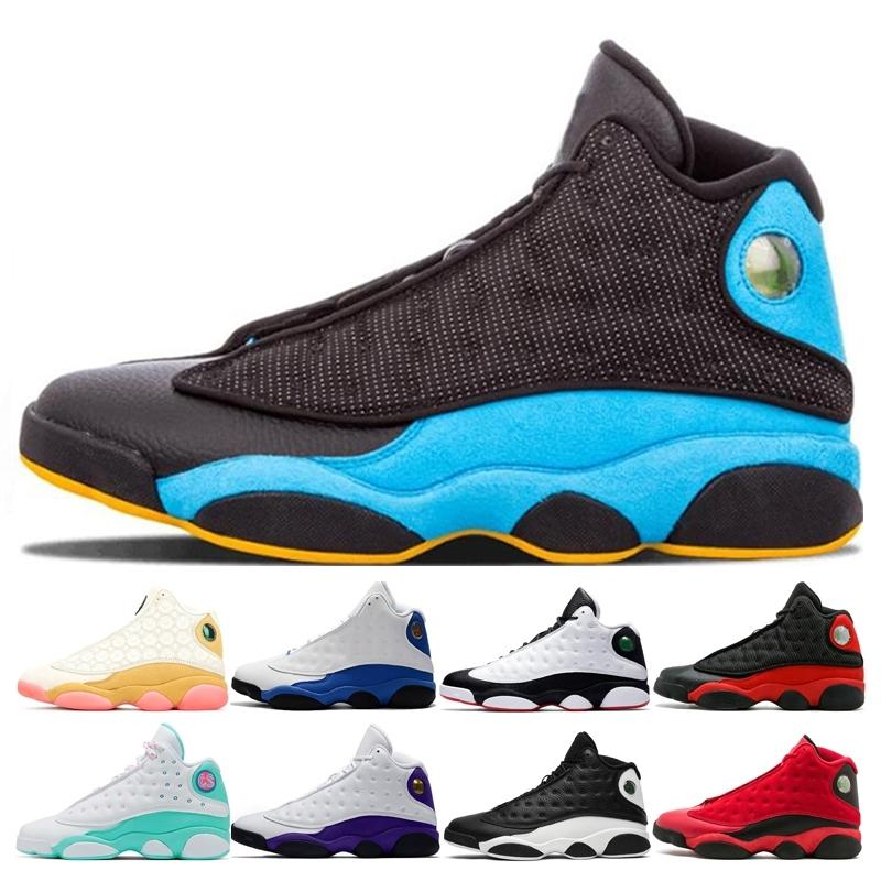 13 13s Quoting Basketball Shoes Homens Mulheres Chris Paul Days-CP3 White Soar Verde Luky Green Playground Wiper Royal Mens Snaker Sapatos