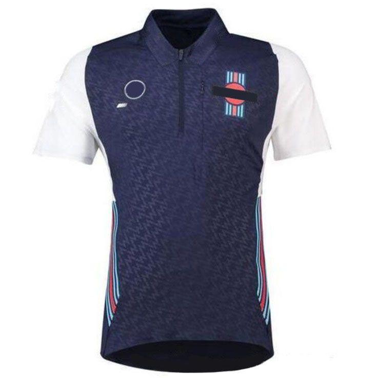 F1 Fans Custom Polo Polo Downhill Costume de moto T-shirt Jersey Jersey Jersey Downhill Vélo Vélo de Vélo à séchage rapide Jersey