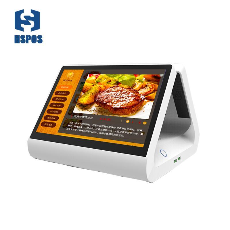 HSPOS 최신 11.6inch 새로운 POS 안드로이드 POS 시스템 듀얼 스크린 안드로이드 6.0 POS 소매