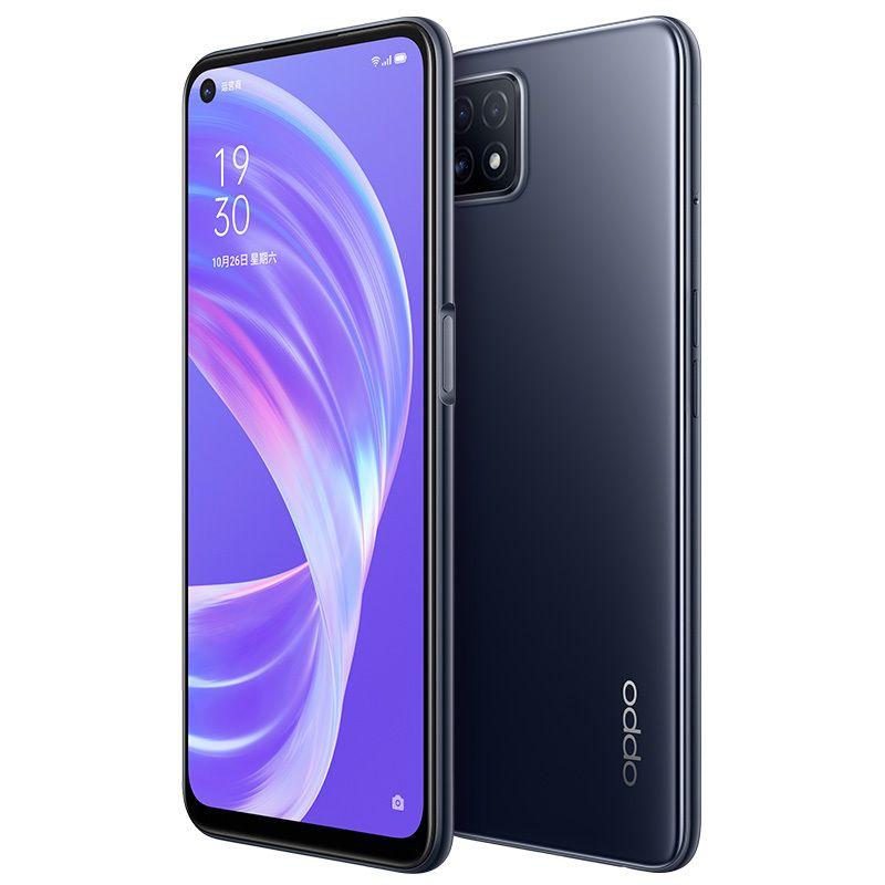 Original Oppo A72 5G Mobile Phone 4GB RAM 128GB ROM MTK 720 Octa Core Android 6.5 inch Full Screen 16.0MP 4040mAh Fingerprint ID Cell Phone