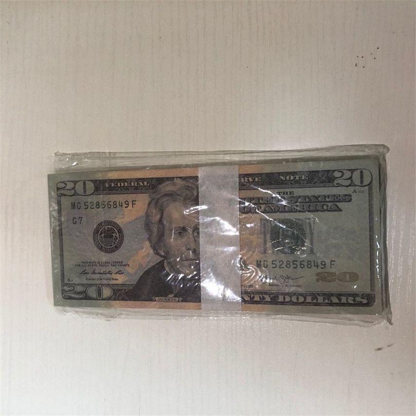 Скопировать валюту 20-4 Вечеринка Качество Валюта / пакет 100 реквизит WPLBJ U.S. Оптовая высокая доставка быстрая JVLMM