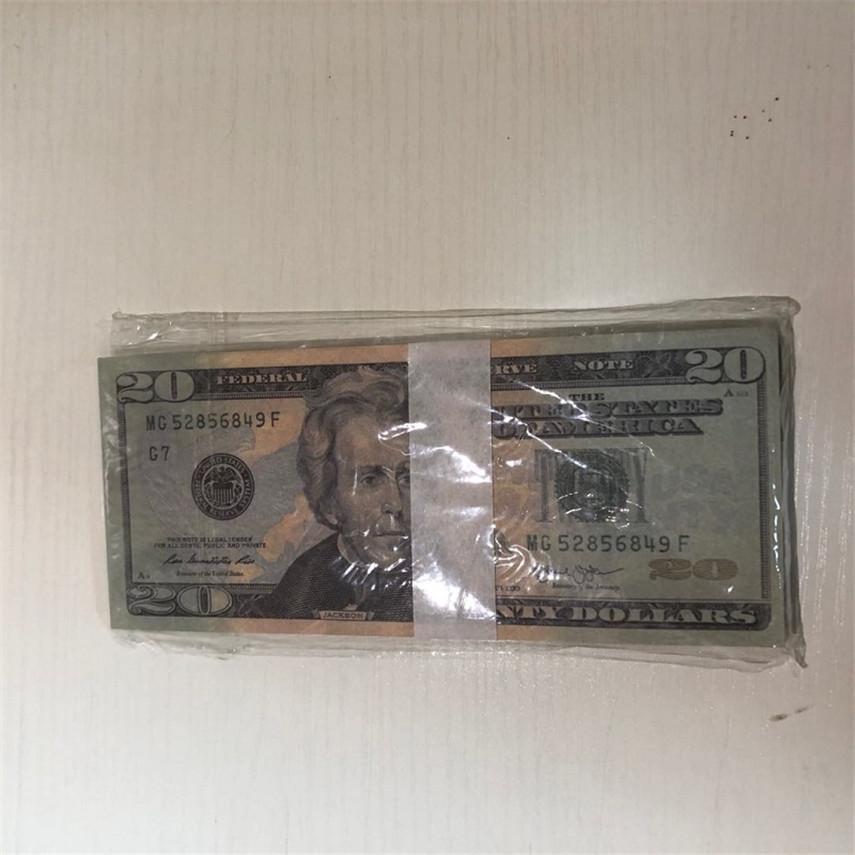 Qualitätsstücke / Packung High Requisiten FAST US 100 Währung Versand Großhandel 20-4 Kopie Währung Party WPLBJ BHGNE