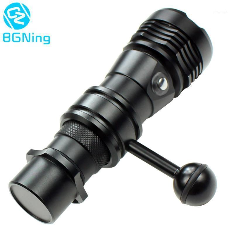 Lighting & Studio Accessories DSLR Camera Diving 1000LM 2000LM Waterproof With 1inch Ball Head Clip For OSMO Action  YI  EKEN Accessories1