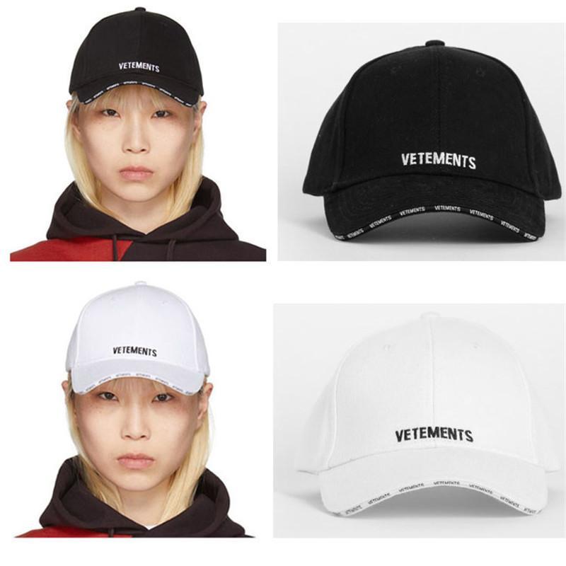 قبعات البيسبول Vetements أفضل نوعية التطريز Vetements قبعات الرجال النساء سكيت Vetements قبعات البيسبول T200409