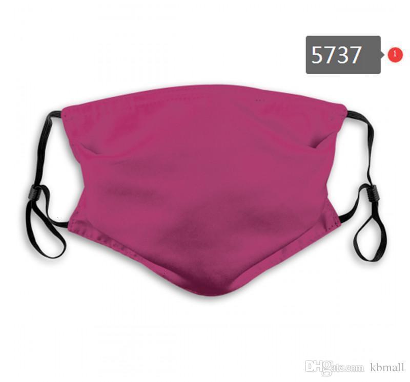 Uomini 2020 DHL Nuovo trasporto libero e donne in cotone semplice singolo colore mascherina mascherine PM2.5