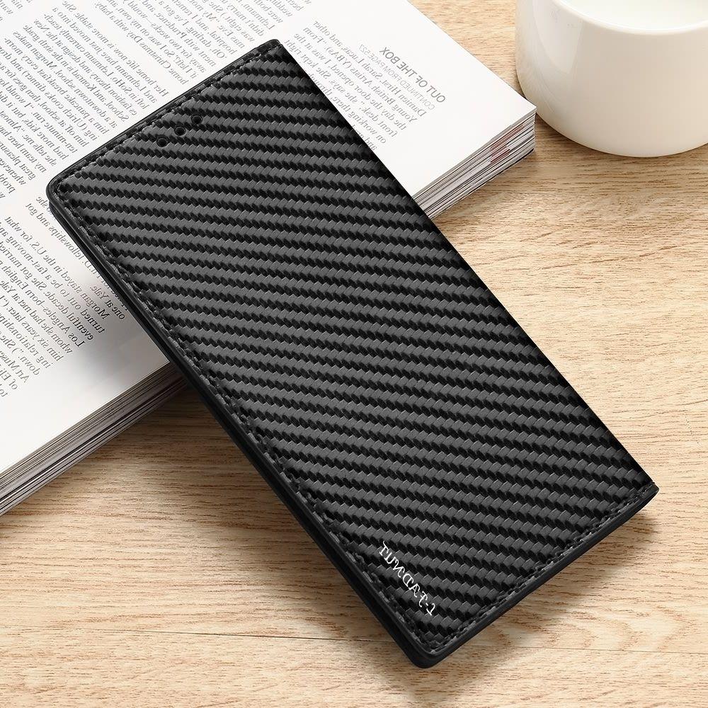 Magnetic Virar Carteira capa para Samsung Galaxy A10 A20 A20e A30 A40 A50 A70 A41 A51 A21S Couro 5G A71 macia Carbono Tampa elegante