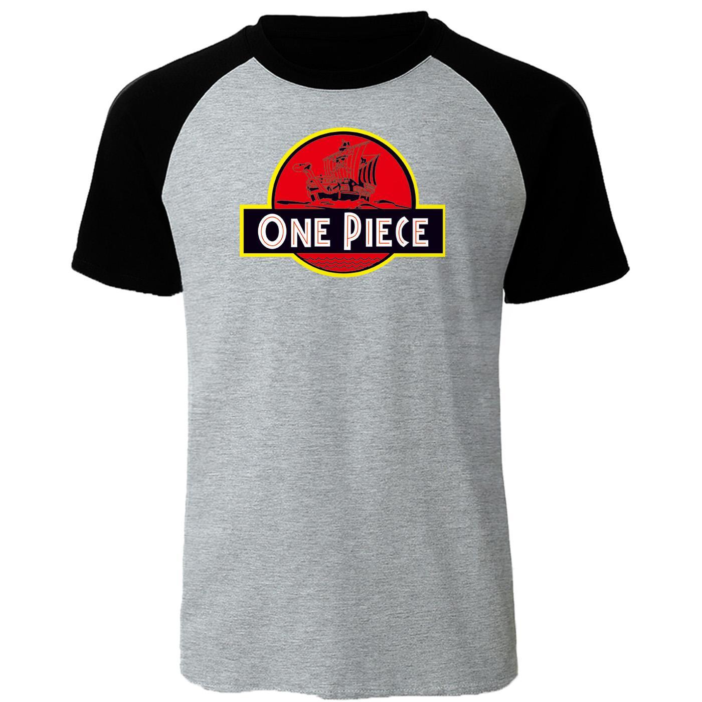Sport Mode Raglan T-shirt Homme Japon Anime One Piece Tops de haute qualité pour hommes T-shirts 2019 d'été de coton T-shirts Tops fraîches Respirant