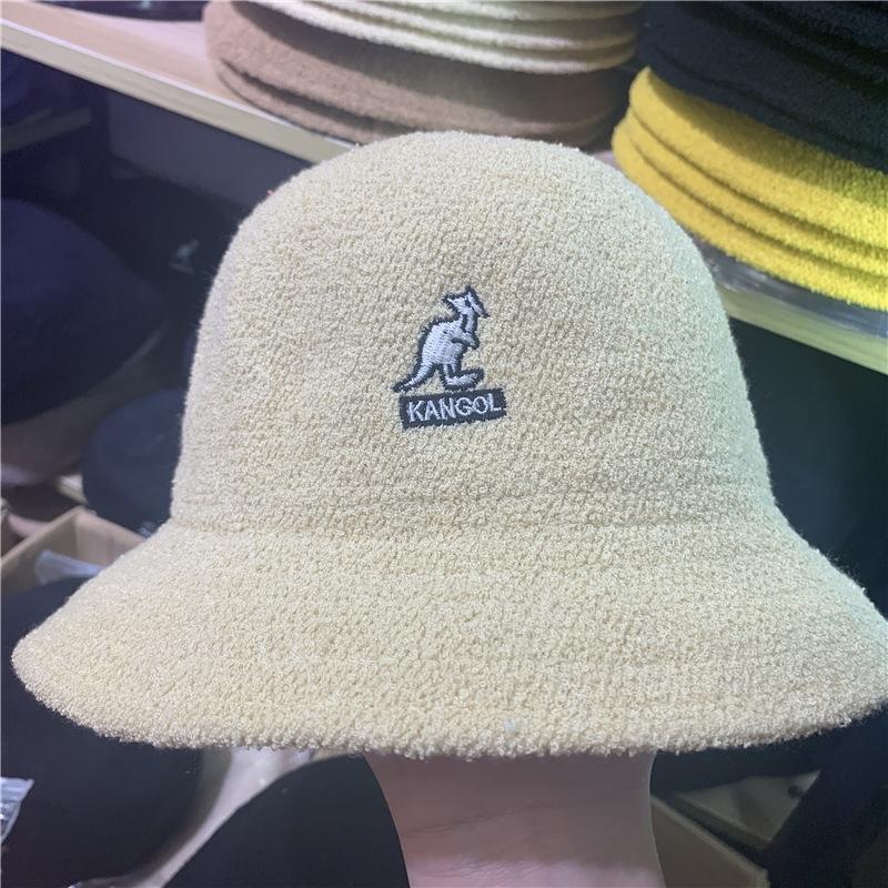 Knea Горячая распродажа зуб цвет полосатый куча куча крышка креативный заусенец шерсть вязаная кенгуру шляпа шапка головной уборной кангол акриловая вязаная шляпа