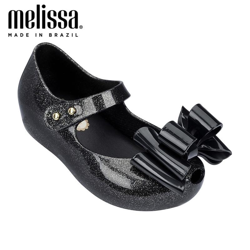 Mini Melissa Ultragirl Sweet III Большой Лук Девушка Желе Обувь Летняя Обувь Мелисса Сандалии Девушки Девочки Дети Детские Обувь Y200619