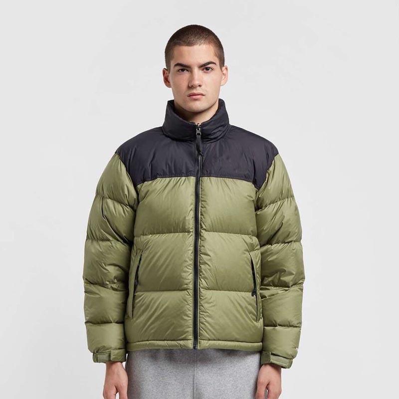 Para hombre de invierno por la chaqueta con capucha gruesa capa de la chaqueta de los hombres de alta calidad de chaquetas Hombres Mujeres Parejas parka de invierno Escudo tamaño asiático M-2XL