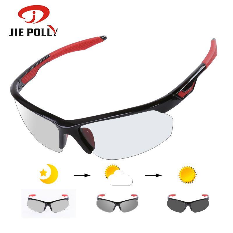 Фотохромные велосипедные солнцезащитные очки TR90 дорожные велосипедные очки 3 в 1 линз Всепотребильные очки горы горные зазорные очки мужчины женщины Q0119