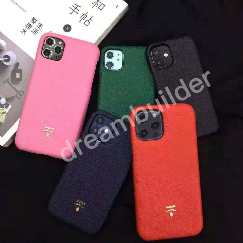 Casos de telefone de designer de luxo para iPhone 12 Pro Max 11 7 8 Plus moda capa para iphone x xs max xr shell vsdrs