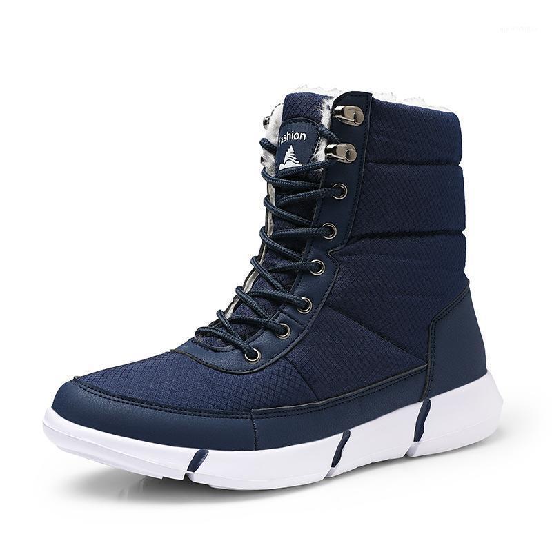 2021 خفيفة الوزن للجنسين أحذية الثلوج أحذية الشتاء الكاحل عارضة المشي لمسافات طويلة الدافئة شتاء أحذية المياه برهان الرجال الأحذية شحن shipping1