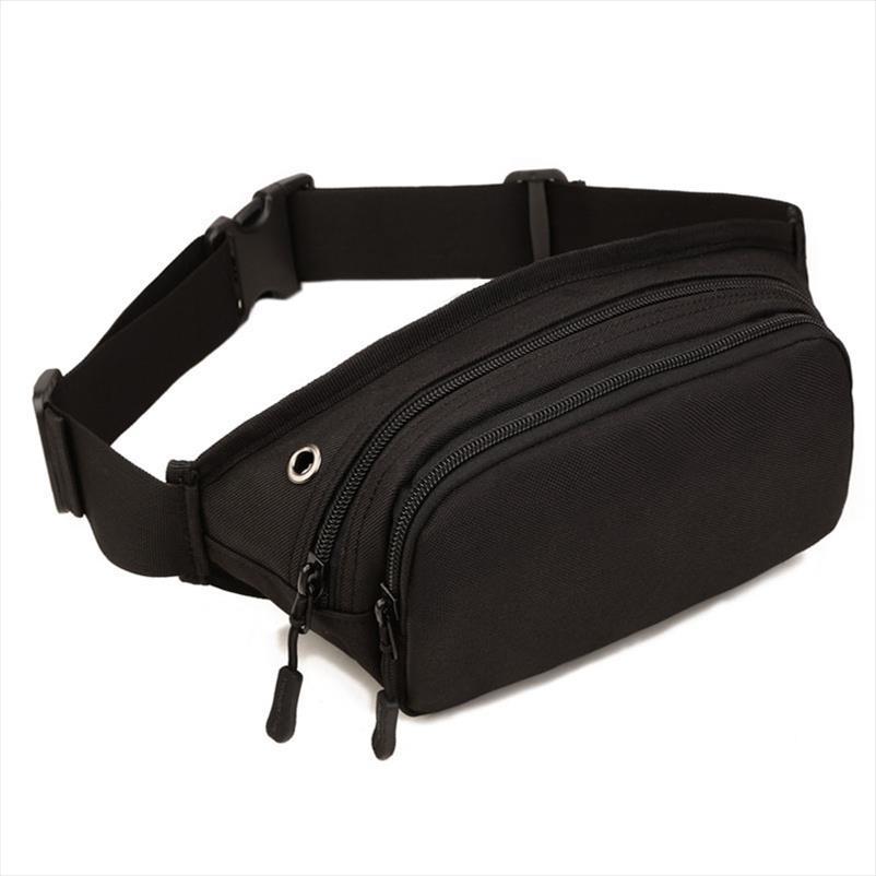 Marsupio Confezione Uomini impermeabile 1000D nylon Sling Bag Petto Fanny Hip Bum Cintura del corpo della traversa del messaggero di spalla casuale Pouch borsa