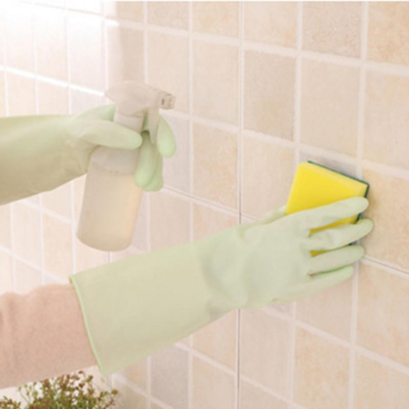 Kitchen Dish Washing Gloves Household Rubber Dishes Washing Gloves Waterproof Washing Clothes Cleaning Gloves Kitchen Clean Tool KKF2057