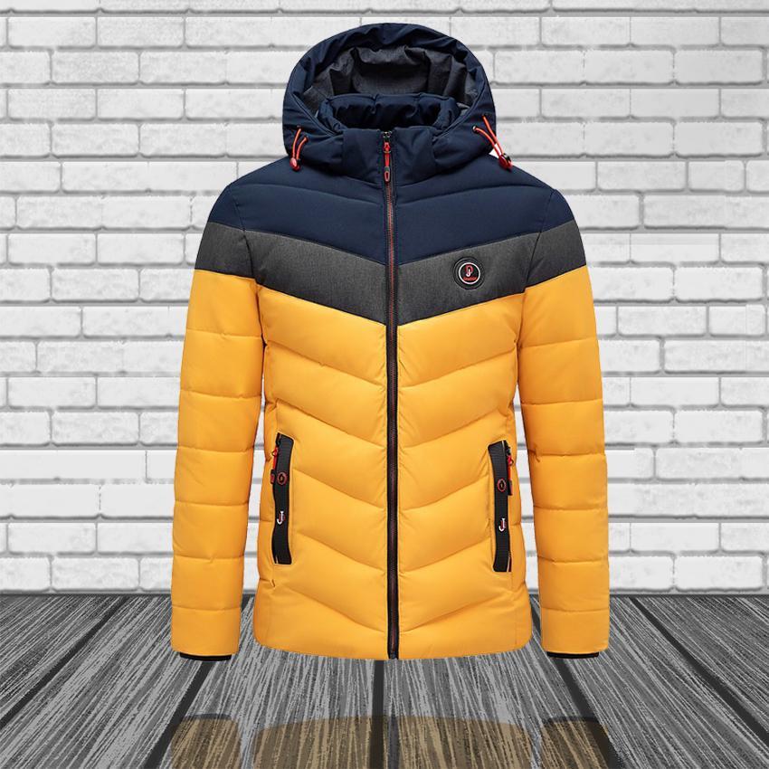Hiver Marque Designer Casual Casual Épaisseur Imperméable Veste manteau Hommes Automne Outwear TilfoProof Hat Parkas
