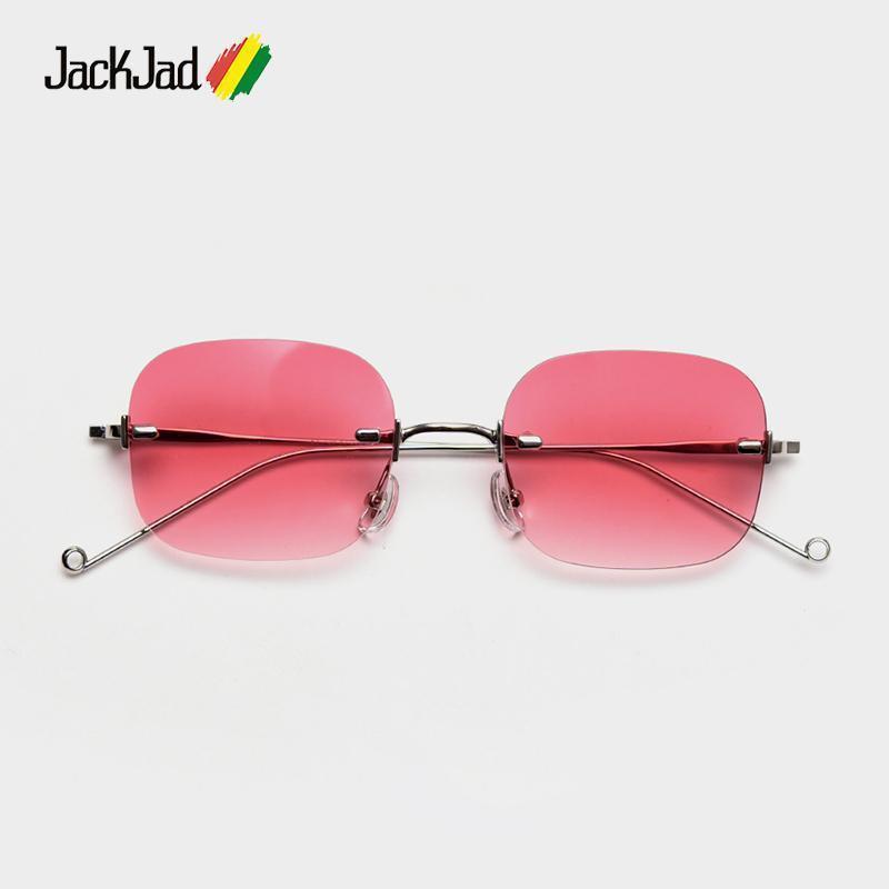 Jackjad 2021 Moda Cool Styless Styless Tint Lente de Oceano Óculos de Sol Mulheres Vintage Marca Design Sun Óculos S314291