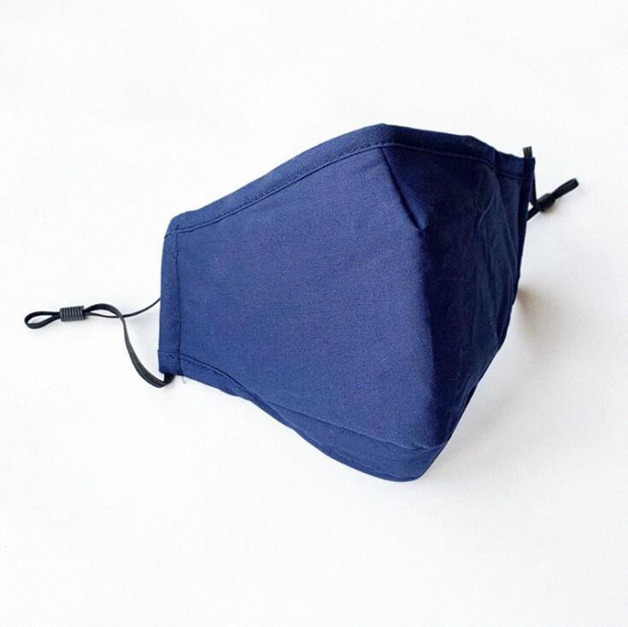 Cotton Mask 4 Farben PM2.5 atmungsaktiv Waschbar Anti-Staub im Freien Gesichtsmasken Wiederverwendbare Schutzmasken 500pcs OOA7957 N7HP #