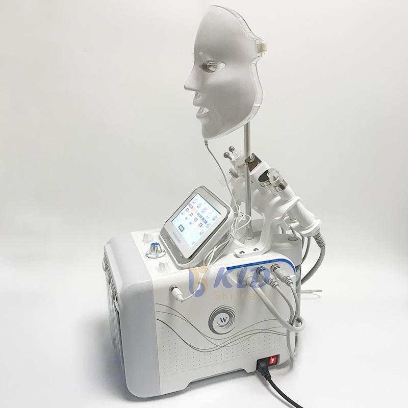 7 IN 1 Hydra Yüz Makine RF Cilt Rejuvenaiton Mikrodermabrazyon Hidro Dermabrazyon Biyo-kaldırma Kırışıklık Kaldırma Hydrafacial Spa Makinası
