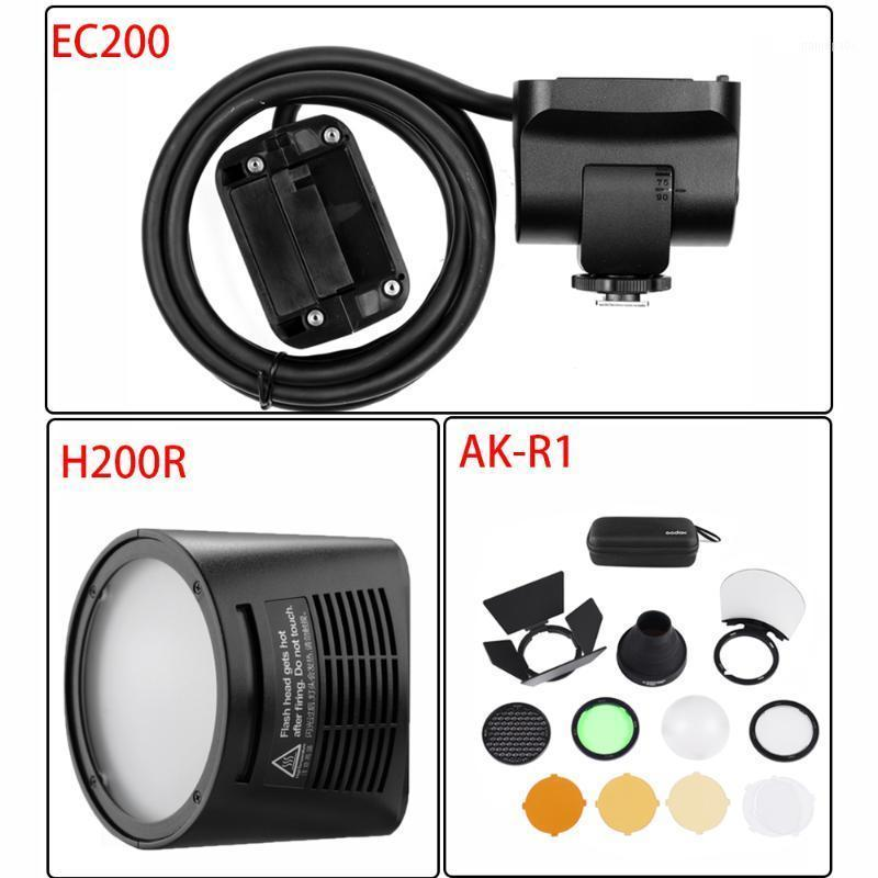 Godox AD200 Flash Accessory EC-200 WITSTRO H200R Round Flash Head Extension Head AK-R1 Color Temperature Reflector Godox1