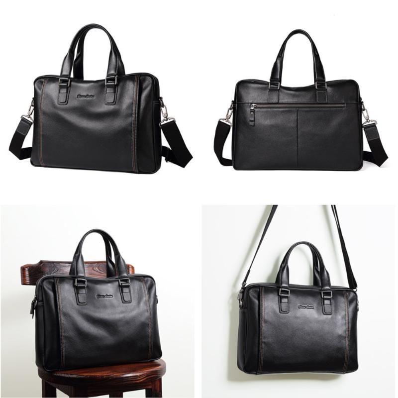 Мужские джинсовые бизонные бренд портфель кожаный мужской сумка сумка подлинный Crossbody мужская ноутбук мода мода бизнес-сумочка hrdbx