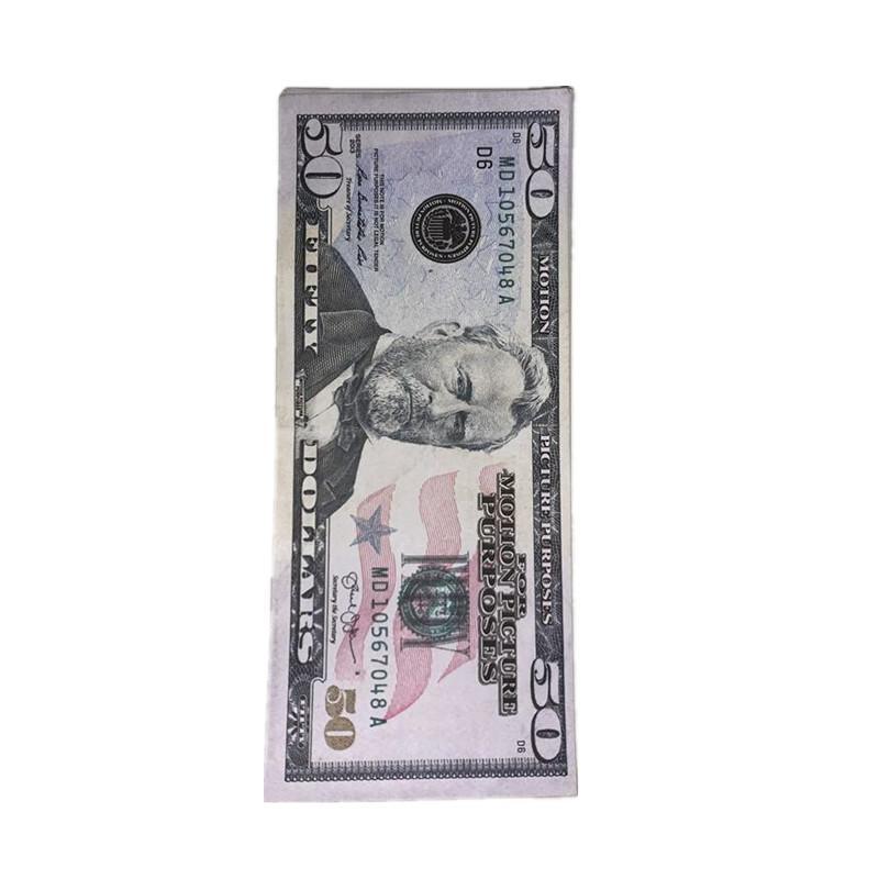 Magic US PROPS Afficher les jouets Monnaie des enfants Dollar Money Bill Shooting Film Cadeau Film Expédition rapide Fake Copy Copy Copy 2G HNPUJ AUQQD