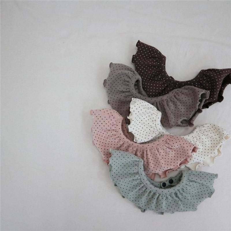 Milancel Baby Kleidung Set Set Nette Punkt Säugling Jungen Indoor Bodysuits 4 Stück Set Kleinkind Mädchen Kleidung SetQ1221