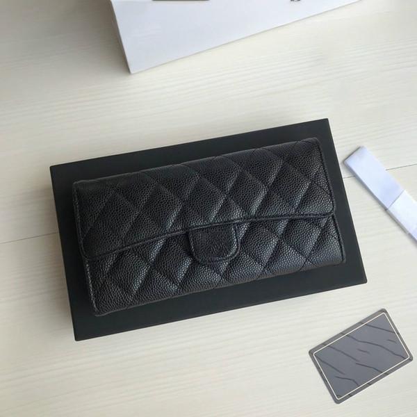 Heiße beste Qualität echtel leder herren brieftasche mit box luxurys designer wallterzeit womens brieftasche purese kreditkartenhalter passhalter 189
