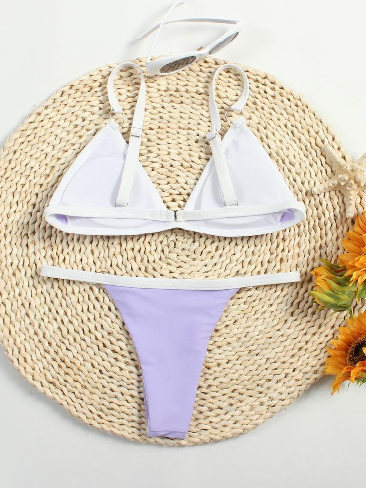 Bikini Katı Mayo Kadın Mayo Bikini Biquini Brezilyalı Yaz Plaj Mayo Yüzmek Wear2021East