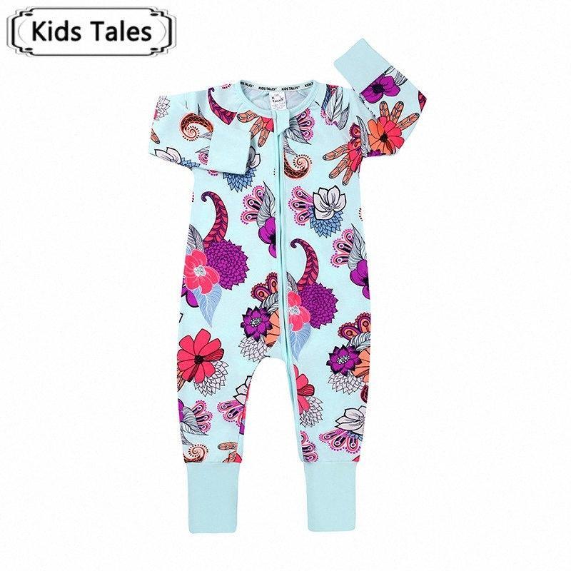 Baby Barboteuses Baby Boy Vêtements floraux layette dessin animé enfants Tenues Nouveau mode infantile Jumpsuit Roupas Bebes SR536 EPCD #