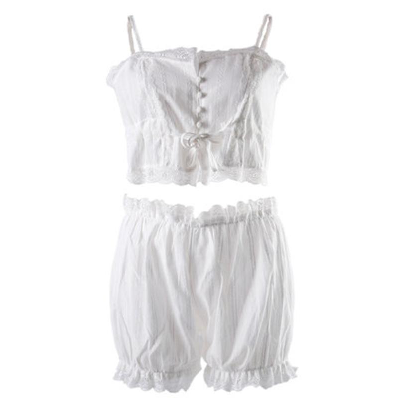 Kadın Seksi İç Giyim Moda Vintage Sarayı Stil Sling Pijama Kadın Nefes Nakış Seksi Lingeries İç 2020 Yeni Toptan
