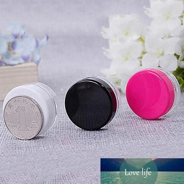 Küçük Plastik Krem Örnek Mini Yuvarlak Boş Şişe Kavanoz Pot Kozmetik Konteyner Krem Kavanoz Vücut Losyonu Ambalaj Şişesi
