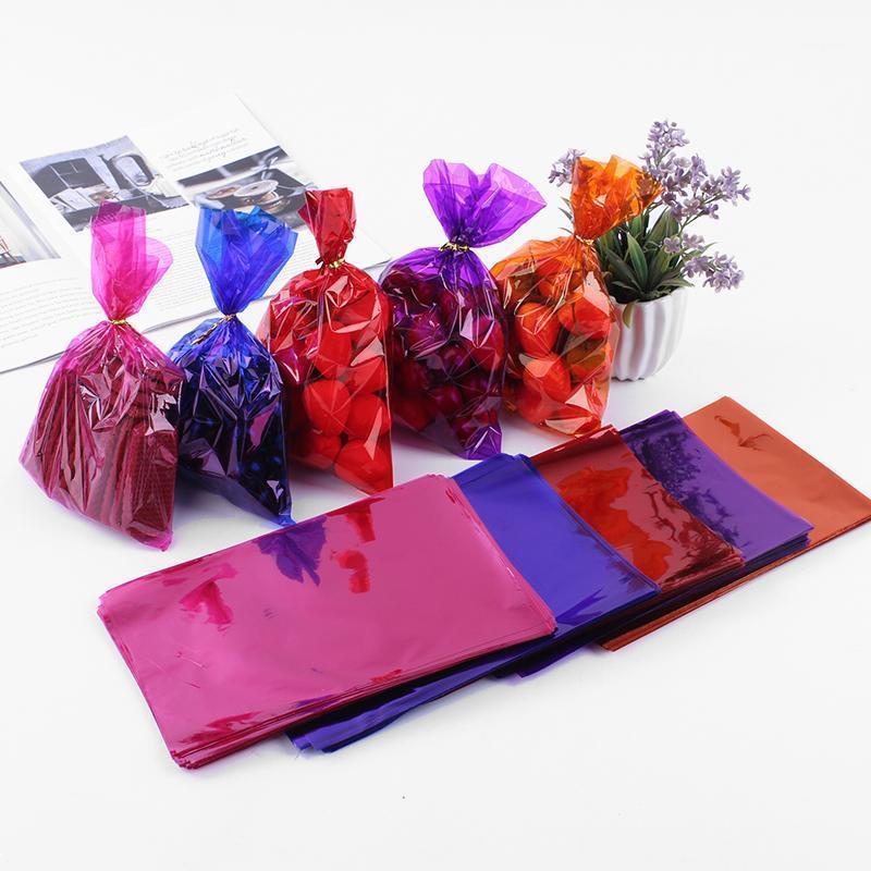 Подарочная упаковка 100 шт. / Пакет целлофанов Упаковочная сумка Color Pocket Biscuit Bag1