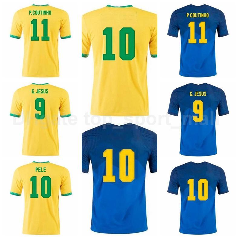 Jersey de football Silva National Silva 13 Dani Alves 7 Neres 21 Richarlison Jesus Fernandinho Casemiro Chaire de football Marquinhos Kits B-X