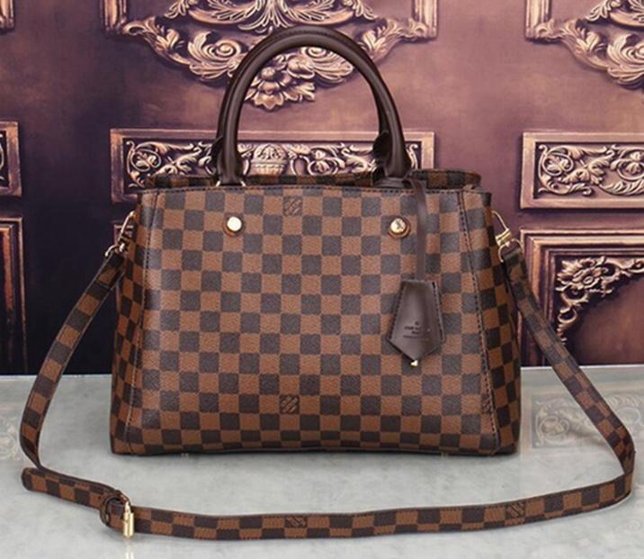 058 2021 set designers bags women crossbody bag Genuine Leather luxurys handbags purses designers lady tote bags Coin Purse three items