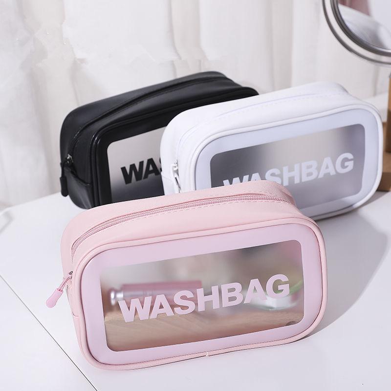 Neue Reise Make-up Tasche Frauen Männer Große Wasserdichte Toilettenartikel Kosmetiktaschen Organizer Fall Notwendigkeiten Make-up Wash-Waschkultur
