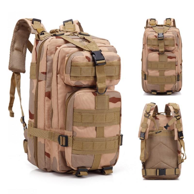 30L Ejército Outdoo morral táctico 3P nylon resistente al agua morral táctico Deportes acampa yendo de trekking mochilas bolsas