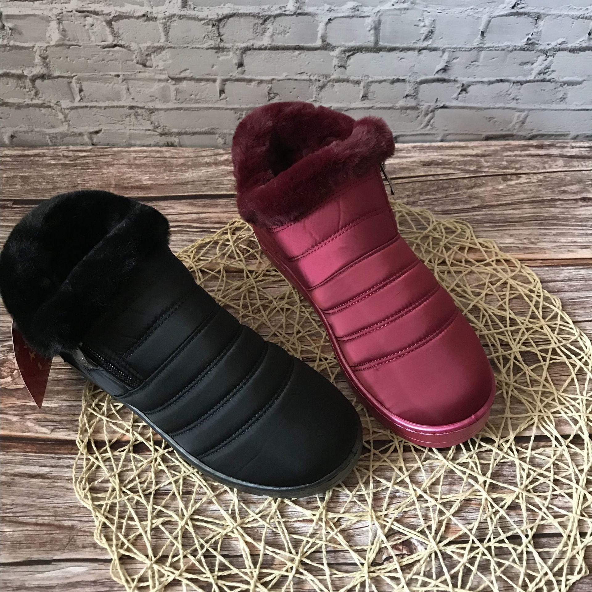 2020 Comfortable New 2020 High-quality Snow Fashion Footwear Women's Shoes Round Toe Boots Gdor