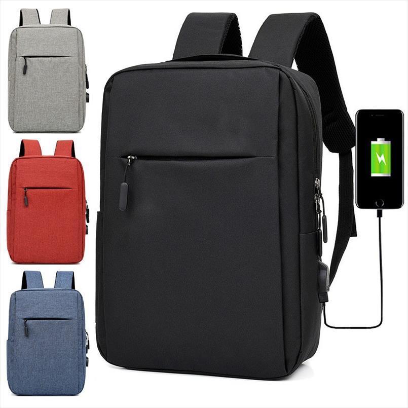 Torna Borsa uomini pack 16inch Laptop Backpack Zaino impermeabile computer portatile di affari Antifurto grande capacità Zaini Borse da viaggio USB