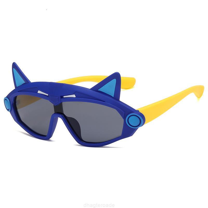 Ultraviolet Personalizzato Anti New Children Bambini Trend, occhiali da sole in silicone polarizzati, bicchieri a forma di re Kong Kong